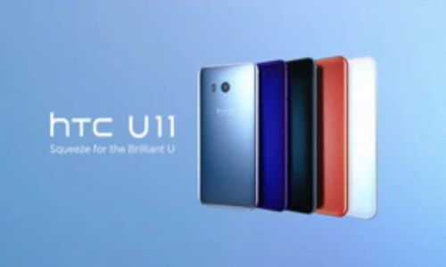 "HTC U11 ""Squeezable Phone"" Specifications, Price and Availability in India"