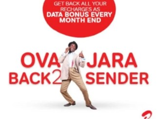 "Airtel SmartConnect 4.0 ""Overjara"" Package Offers 100% Recharge Bonus Data"