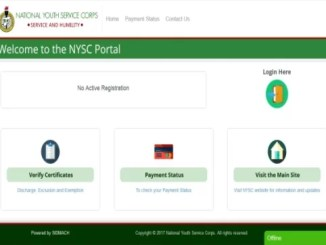 How To Make Payment On NYSC Official Portal Using Remita Pay Option