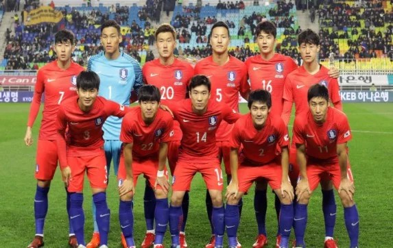 Korea Republic Preliminary Squad For The FIFA World Cup Russia 2018