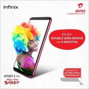 How To Get Airtel Double Data With New Infinix Smartphones -#InfinixSmart2Pro