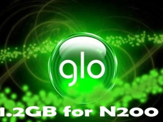 Glo 1.2GB Data for N200; See How to Activate This Data Offer