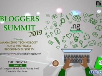 NiRA Blogger Summit in Umuahia, 2019; Registration and Venue