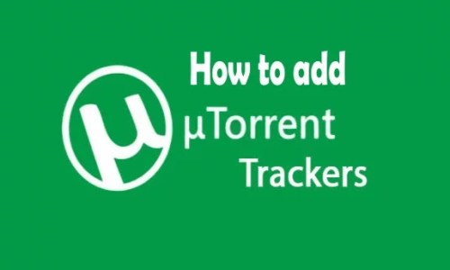 How to Add Trackers to uTorrent Web Easily in 2020