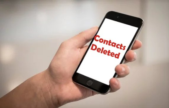 How to delete all Contacts on the iPhone