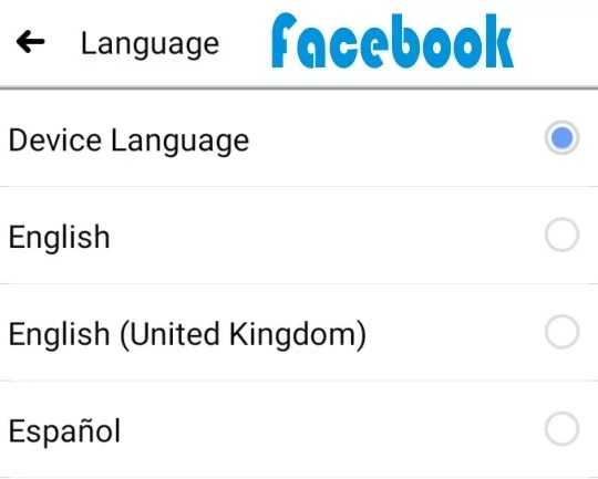 How to Change Language on Facebook App and Desktop
