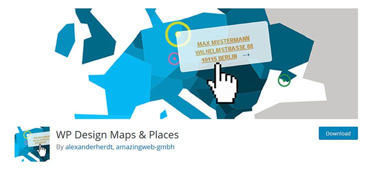 WP Design Karten & Orte