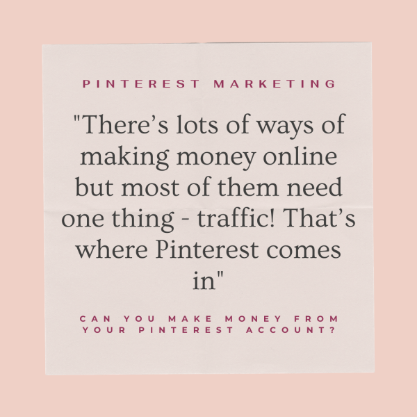 Can you make money from Pinterest?