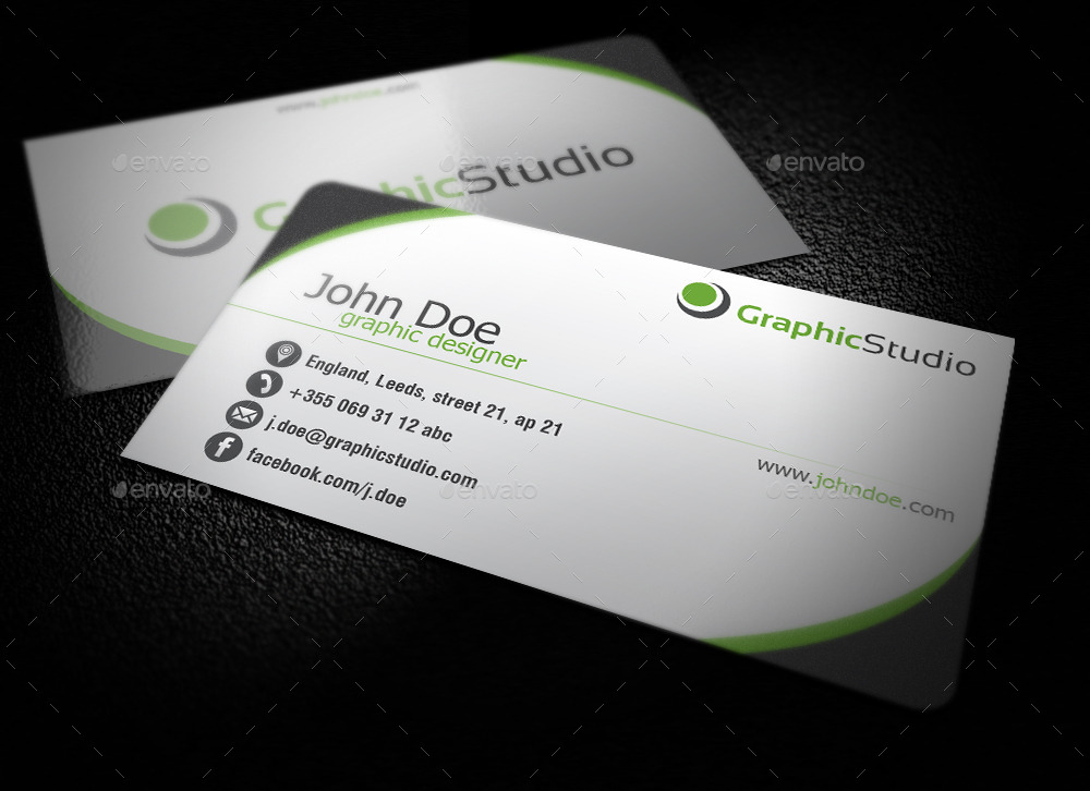31 professional simple business cards templates for 2018 simple business cards reheart Choice Image