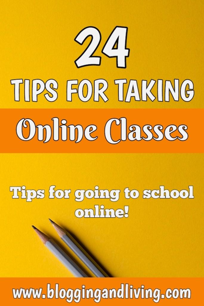 tips for taking online classes