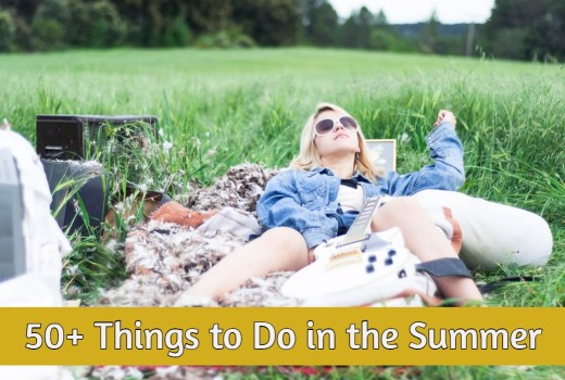 things to do in the summer