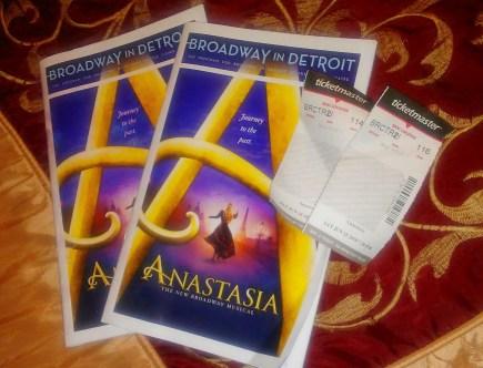 Anastasia Broadway Review