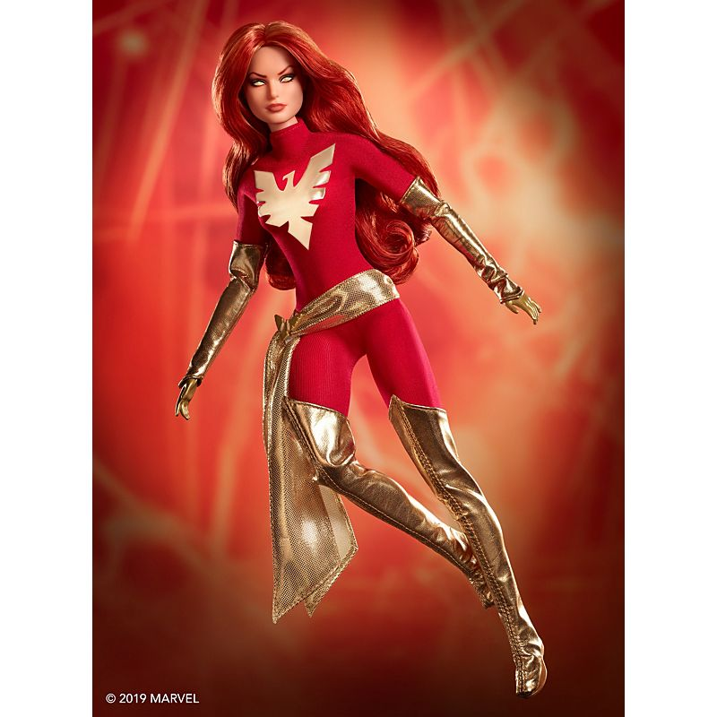 dark phoenix barbie doll