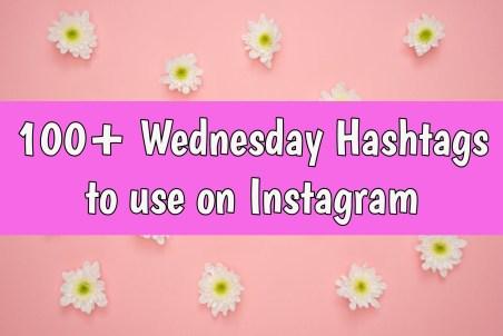 wednesday hashtags