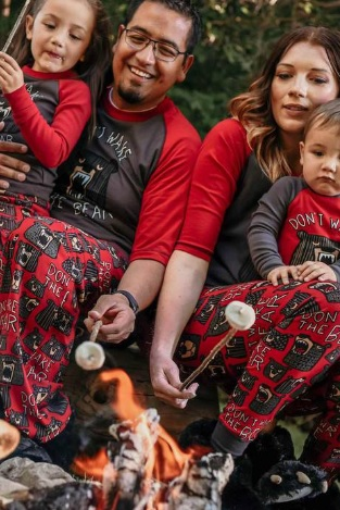 matching pajamas for families