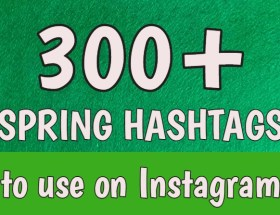 spring hashtags