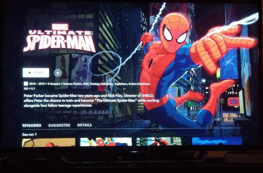 ultimate spiderman
