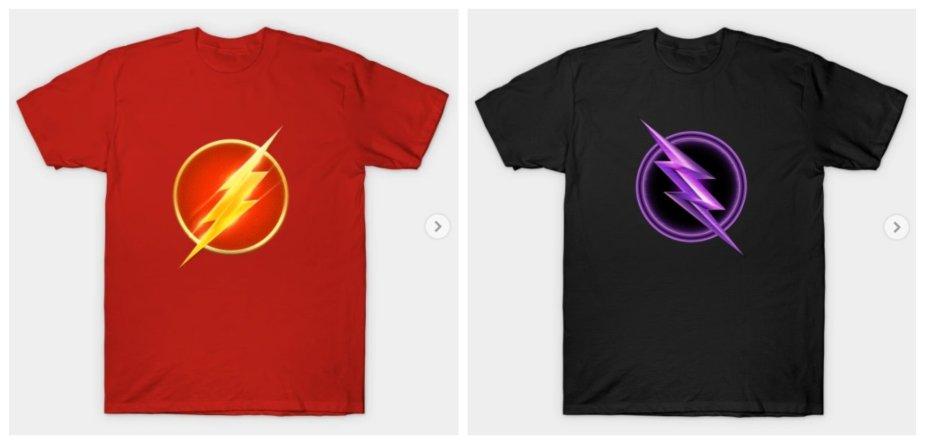 the flash shirts