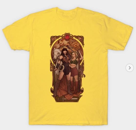 xena t shirt