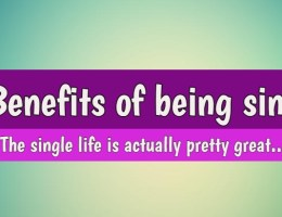 Benefits of Being Single
