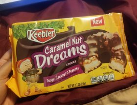 Keebler Caramel Nut Dreams Cookies review