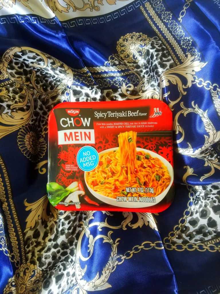 Nissin Chow Mein Teriyaki Beef
