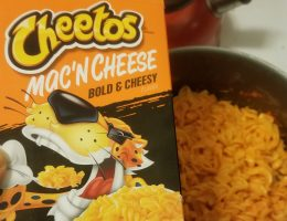Cheetos Mac and Cheese review