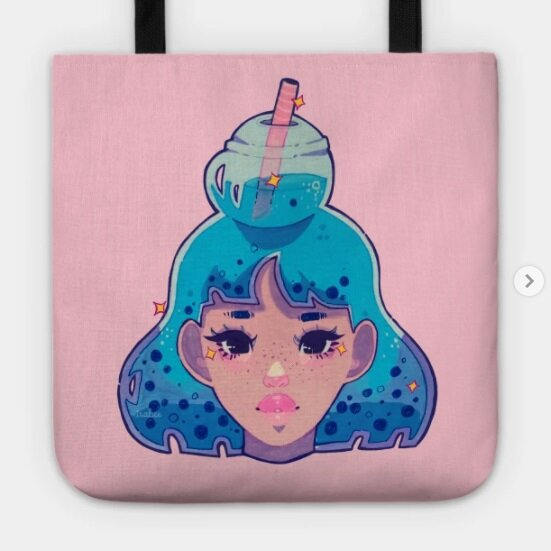 boba tea merch
