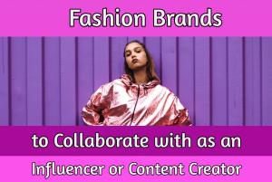 fashion influencer sponsorships