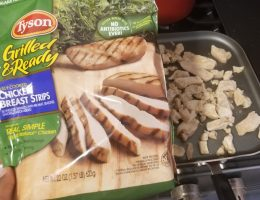 Tyson Grilled and Ready Chicken Breast Strips review