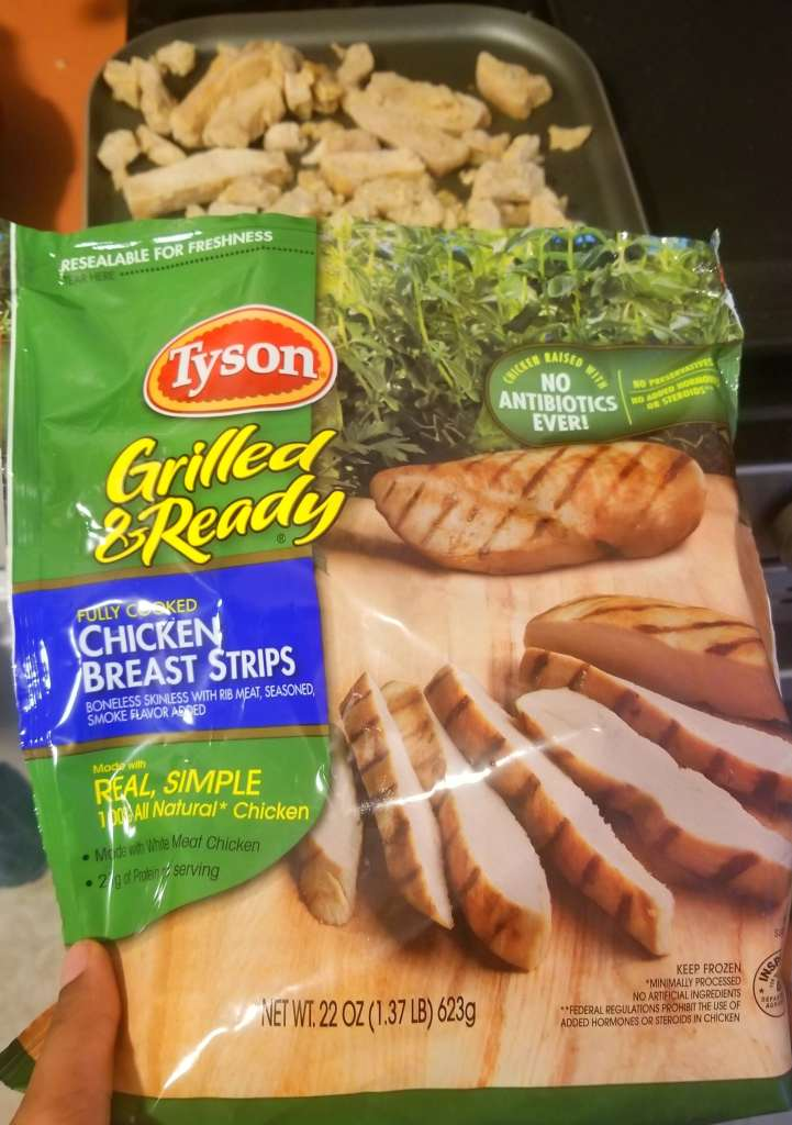 Tyson Grilled Chicken Strips