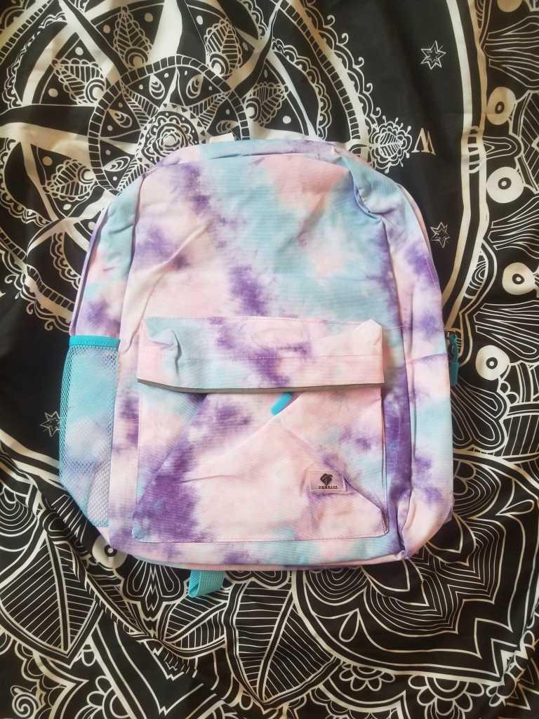 pastel bookbag