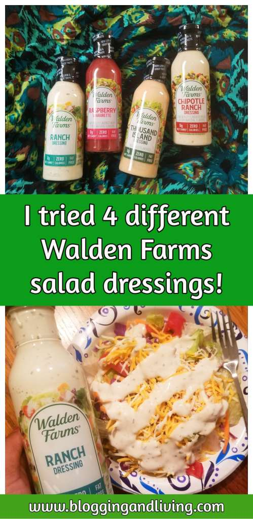 Walden Farms dressing review
