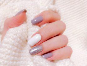 trendy gel nails