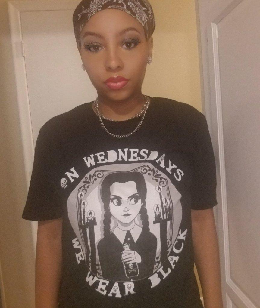 wednesday addams shirt