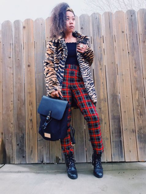 Red Plaid Pants - Holiday Looks
