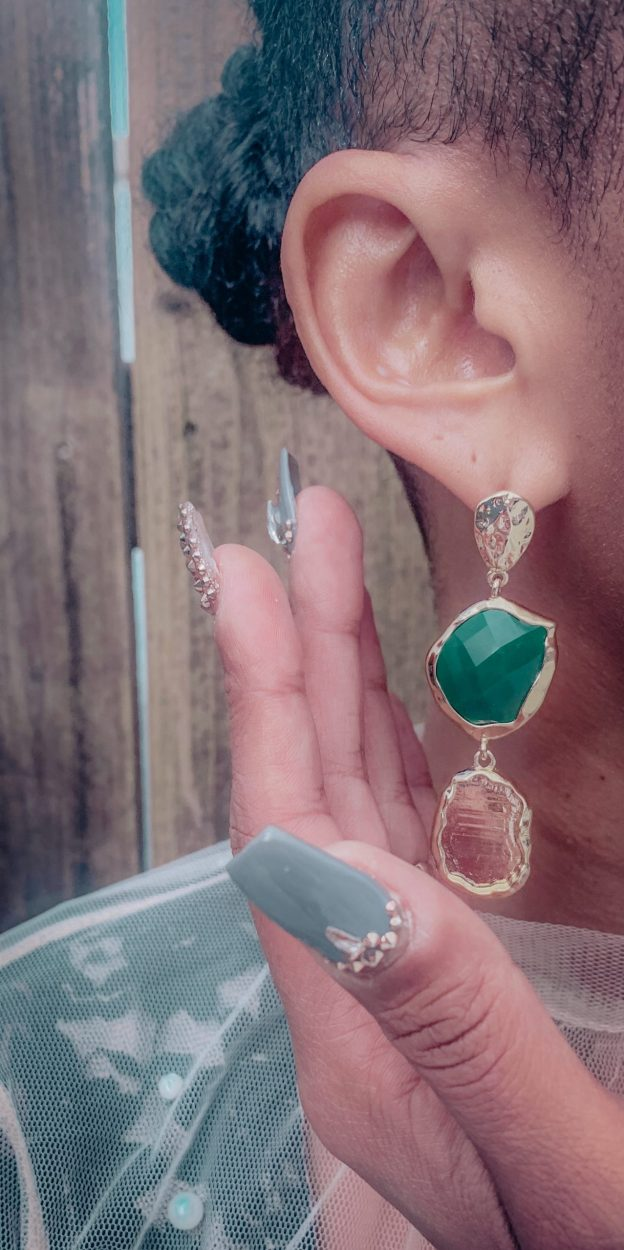 Francesca's Emerald Earrings