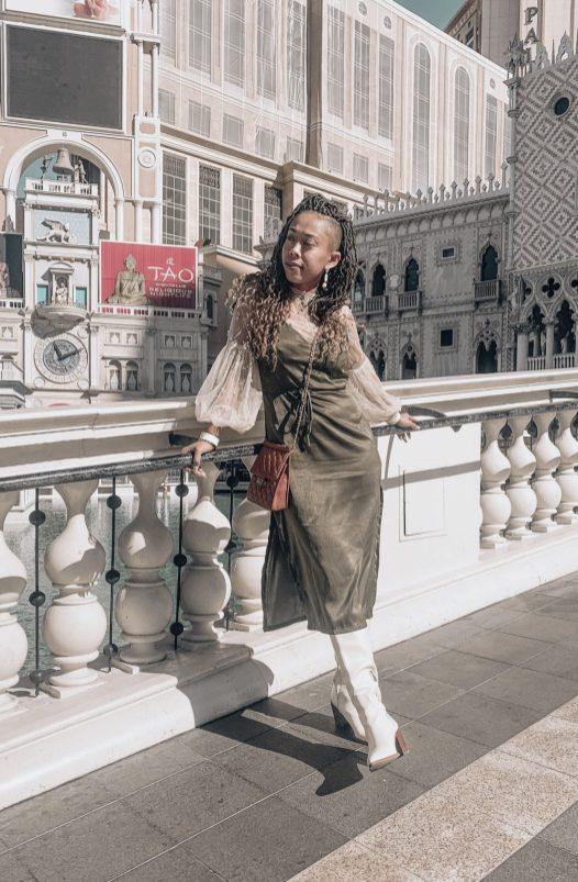 Spring Lookbook - Silk Slip Dress