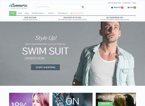 eCommerce - Most Beautiful WordPress Theme