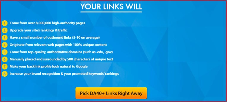 Buy quality backlinks cheap price