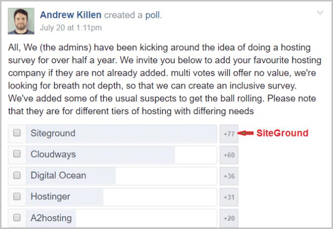 A2-Hosting-vs-SiteGround-Facebook-Polls