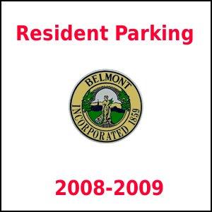 Belmont Resident Permit