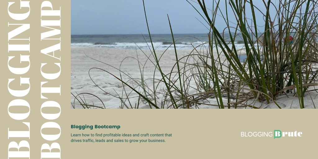 Blogging Bootcamp is a content marketing course offered by Blogging Brute.
