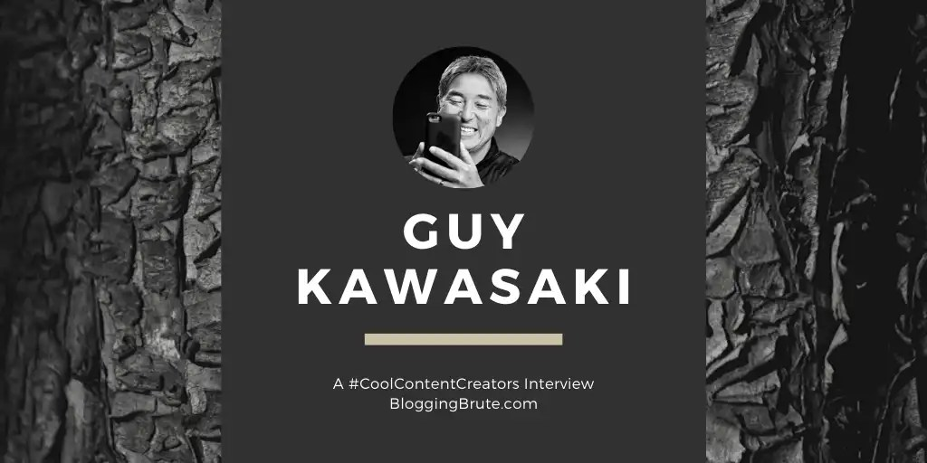 Guy Kawasaki, creating podcast content.