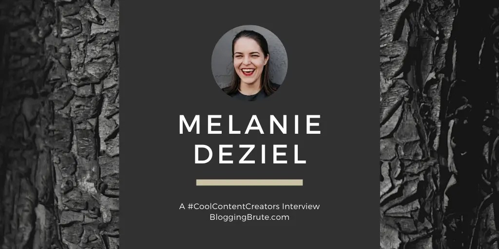 Melanie Deziel, author of The Content Fuel Framework.