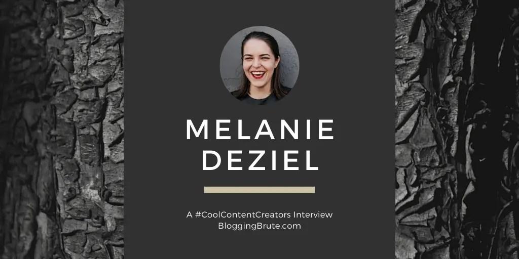 Melanie Deziel, author of The Content Fuel Framework.