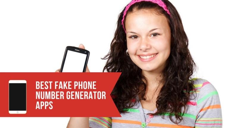 5 BEST FAKE PHONE NUMBER GENERATOR APPS