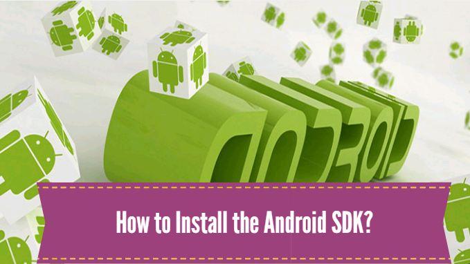 android sdk install