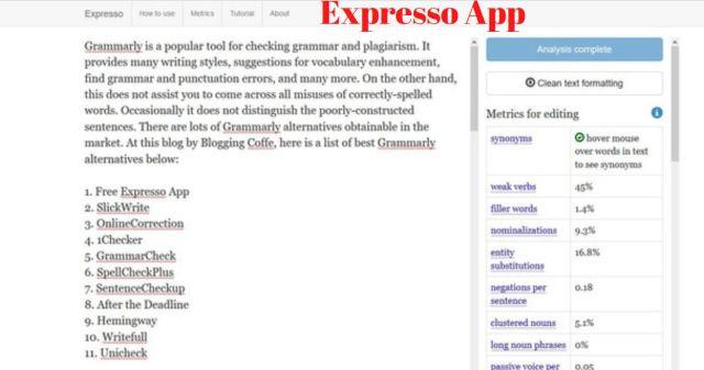 free expresso app