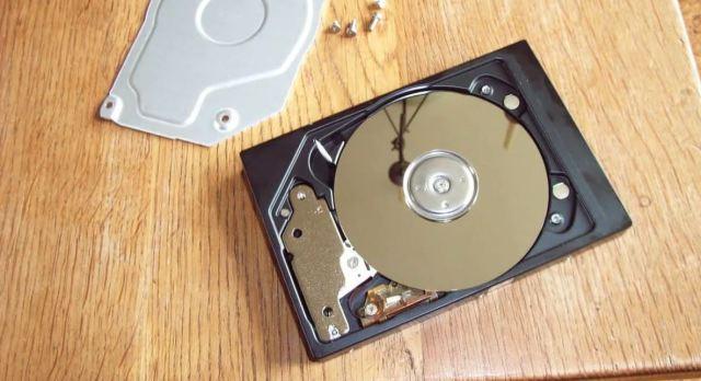 window hard drive failure